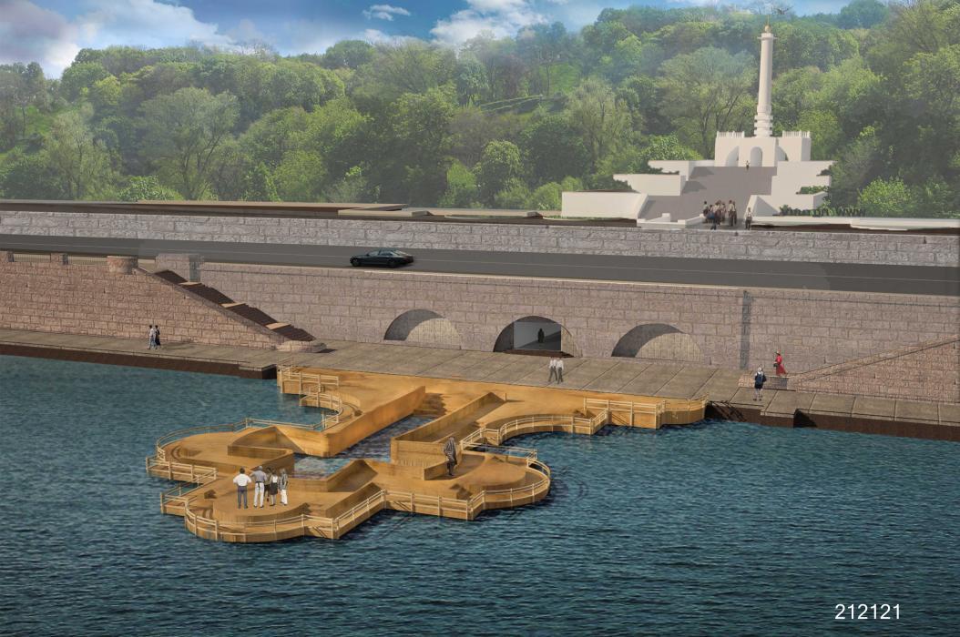 Лучший эскизный проект памятного знака в честь 1025-летия крещения Киевской Руси - 1
