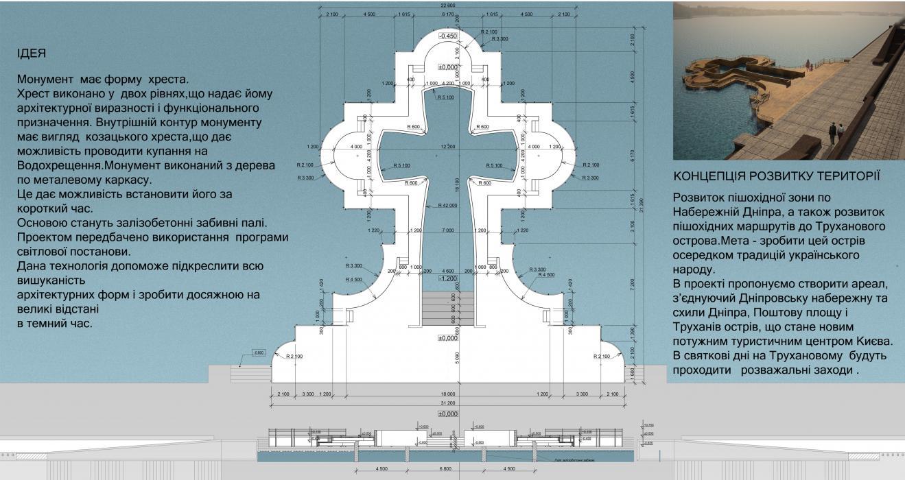 Лучший эскизный проект памятного знака в честь 1025-летия крещения Киевской Руси - 5