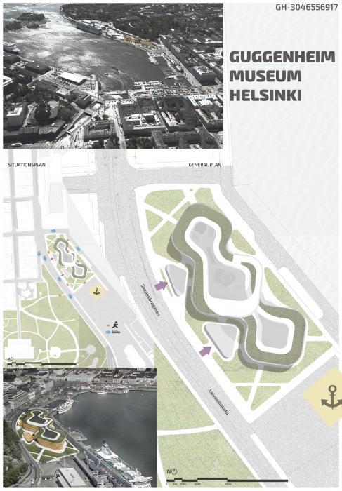 Первый открытый международный архитектурный конкурс на лучший проект музея Гуггенхайма в Хельсинки - 1
