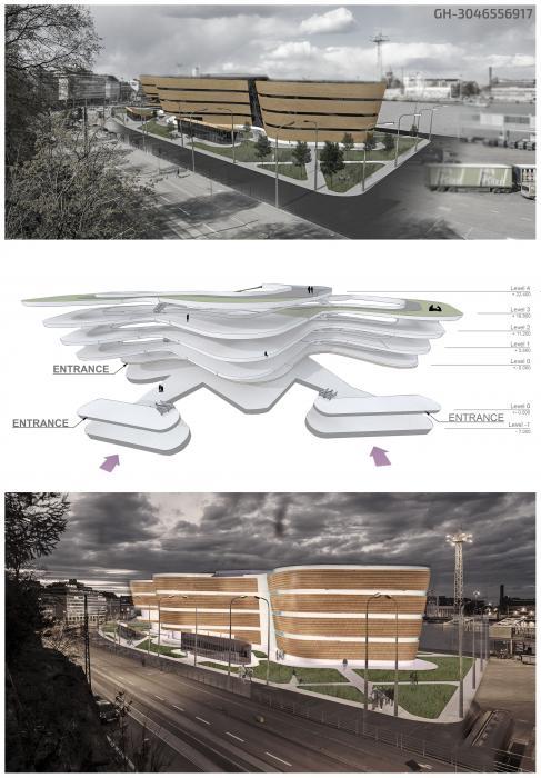 Первый открытый международный архитектурный конкурс на лучший проект музея Гуггенхайма в Хельсинки - 2
