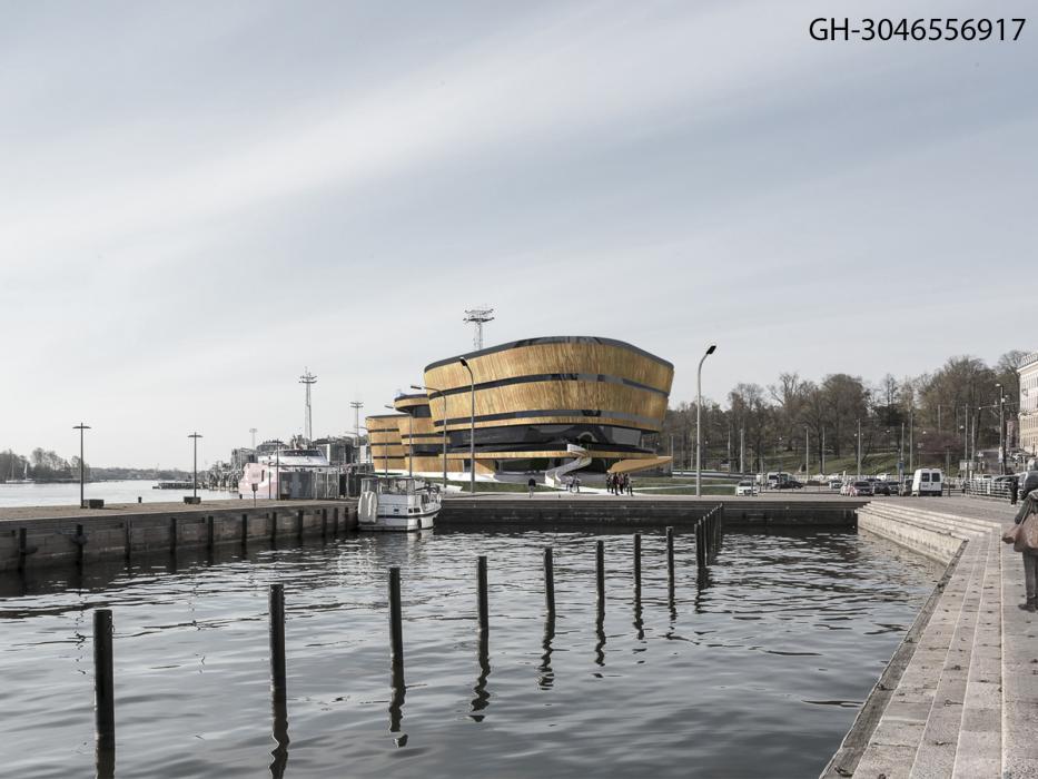 Первый открытый международный архитектурный конкурс на лучший проект музея Гуггенхайма в Хельсинки - 5