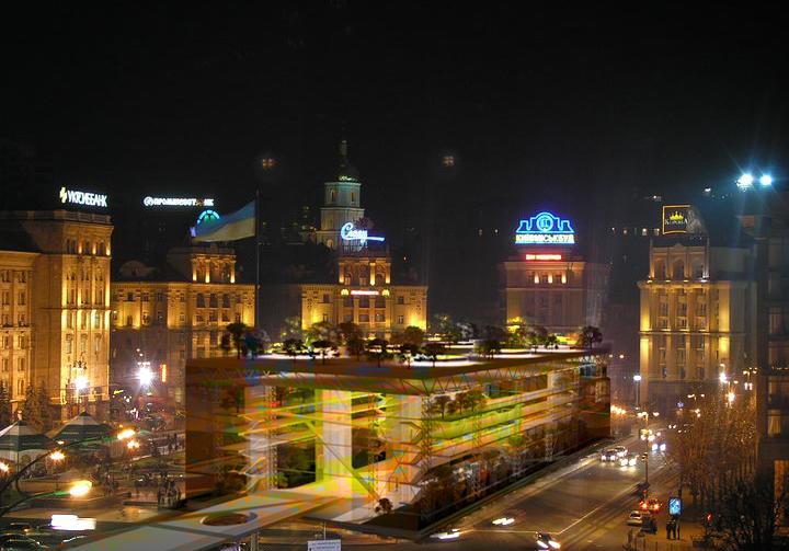Многофункциональный информационный центр международного уровня (фанзона 2012) Площадь Независимости г. Киев - 3