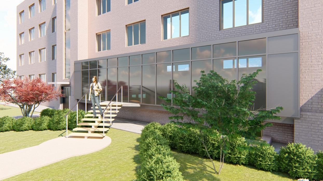 Реконструкция входной группы в жилом 4 этажном доме - 4