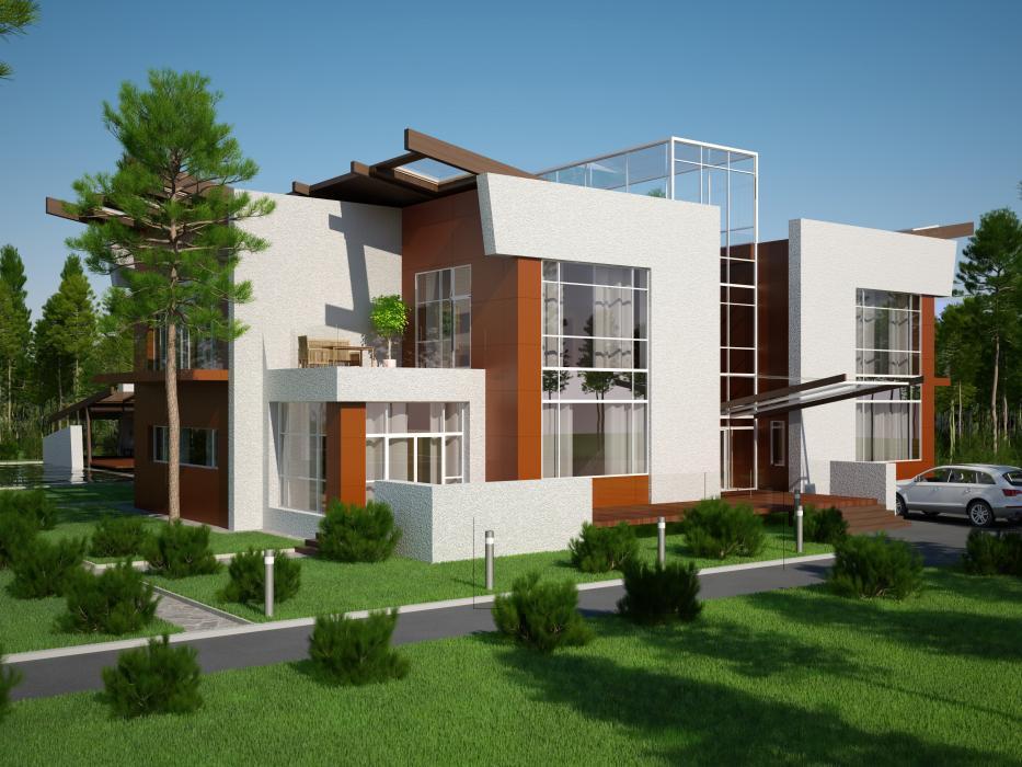 Проект жилого дома усадебного типа в пгт. Ворзель - 1