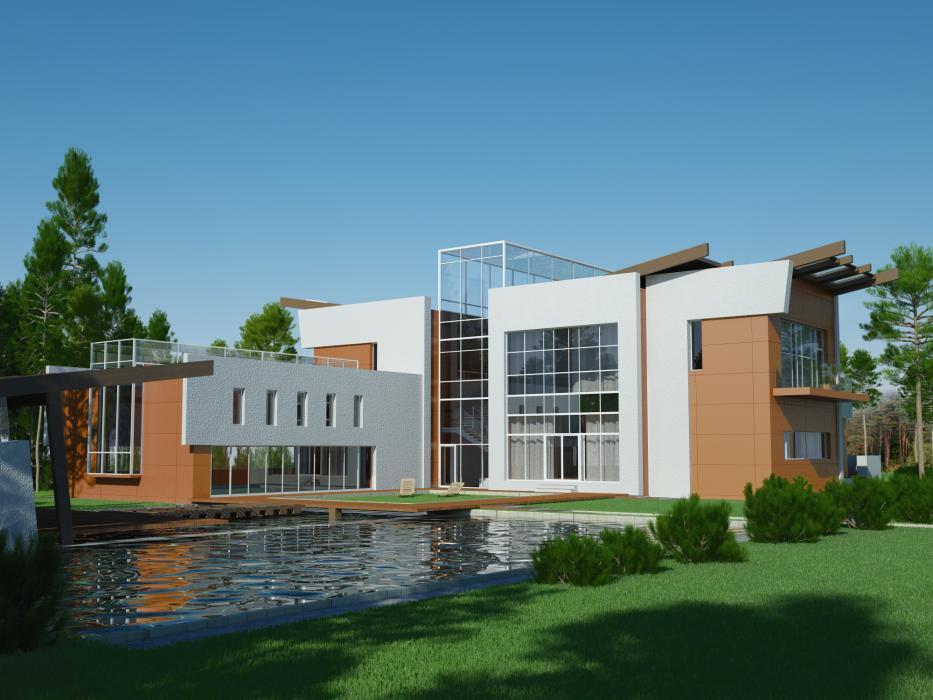 Проект жилого дома усадебного типа в пгт. Ворзель - 2