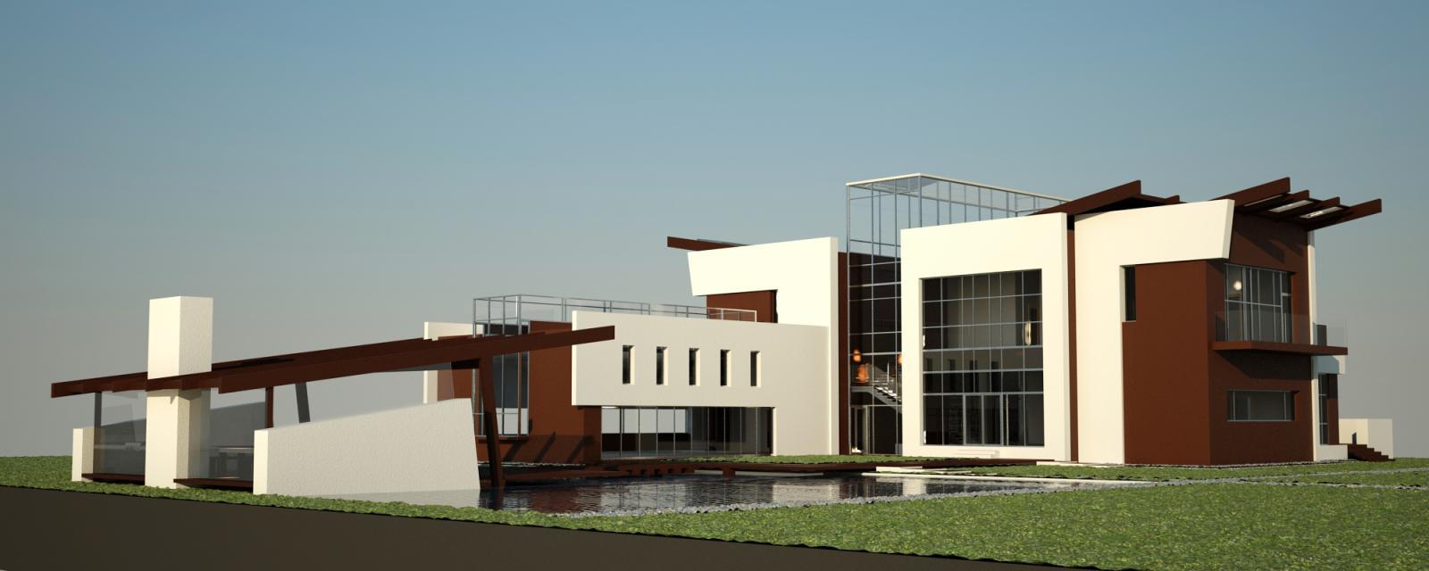 Проект жилого дома усадебного типа в пгт. Ворзель - 3