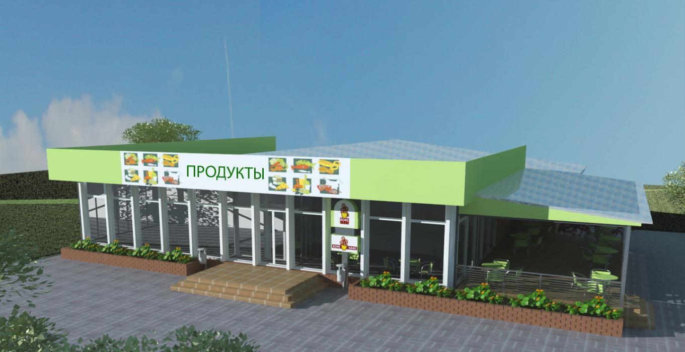 Реконструкция магазина, г. Киев - 1