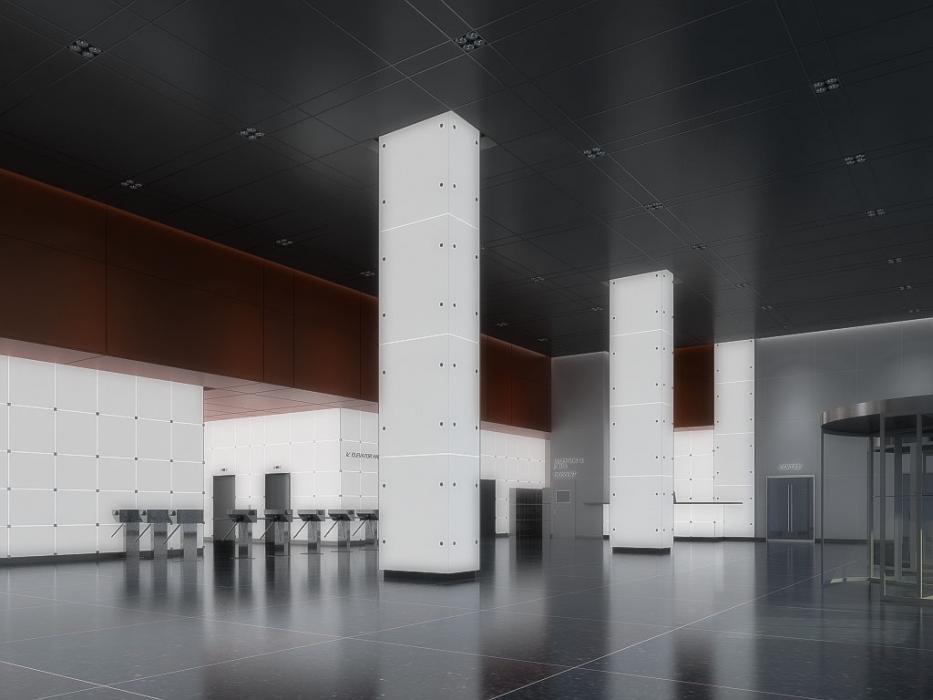 Предложение по входной группе, бизнес-центр