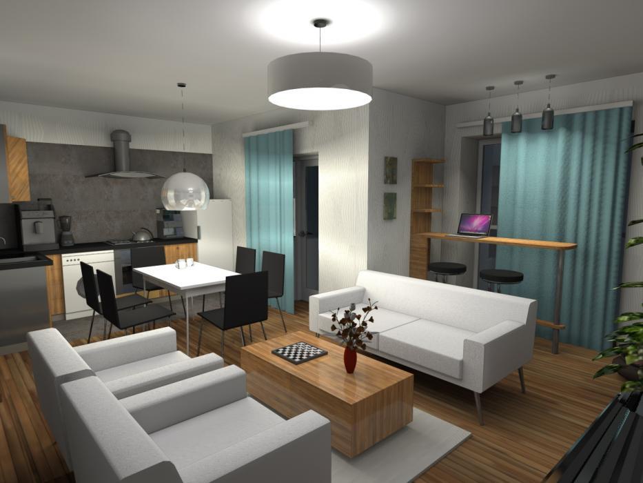 Интерьер квартиры в жилом комплексе
