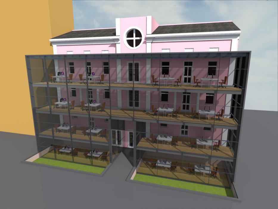 Реконструкция офисного центра, г. Киев - 1