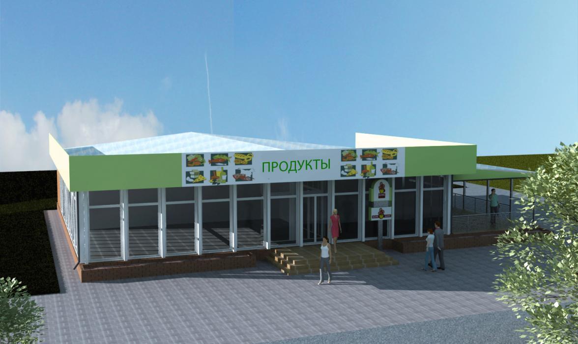 Реконструкция магазина, г. Киев - 3