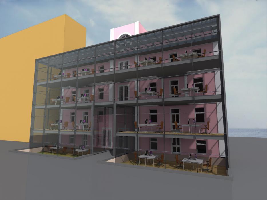 Реконструкция офисного центра, г. Киев - 2
