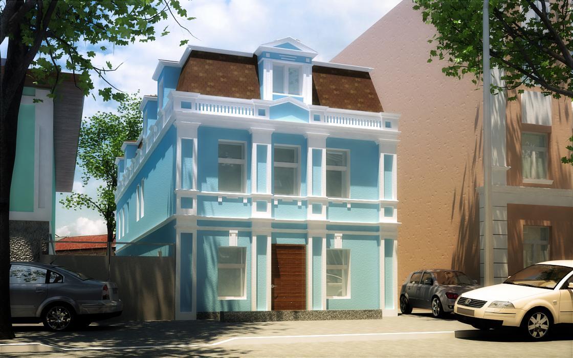 Предложение по реконструкции офисного здания по адресу ул.Хорива, 47-г - 2