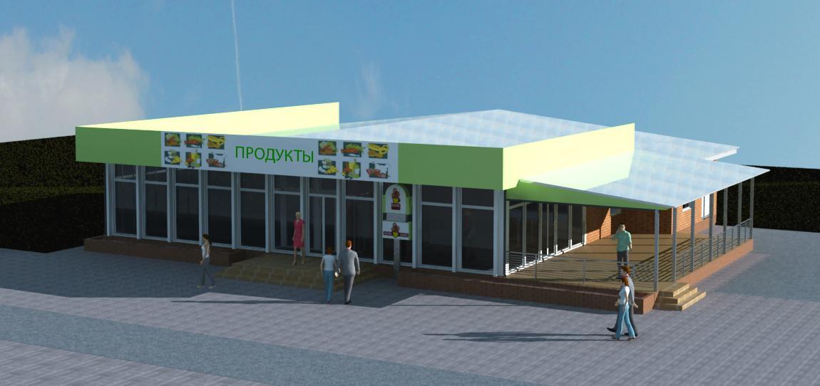 Реконструкция магазина, г. Киев - 4