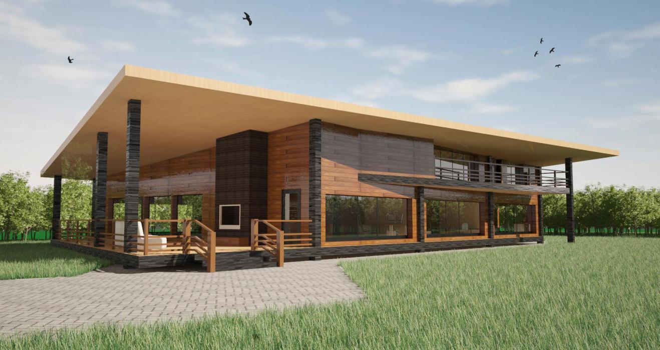 Проект домика для бассейна, США - 3