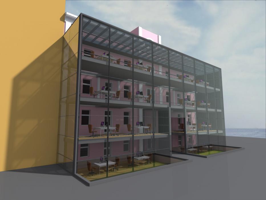 Реконструкция офисного центра, г. Киев - 3