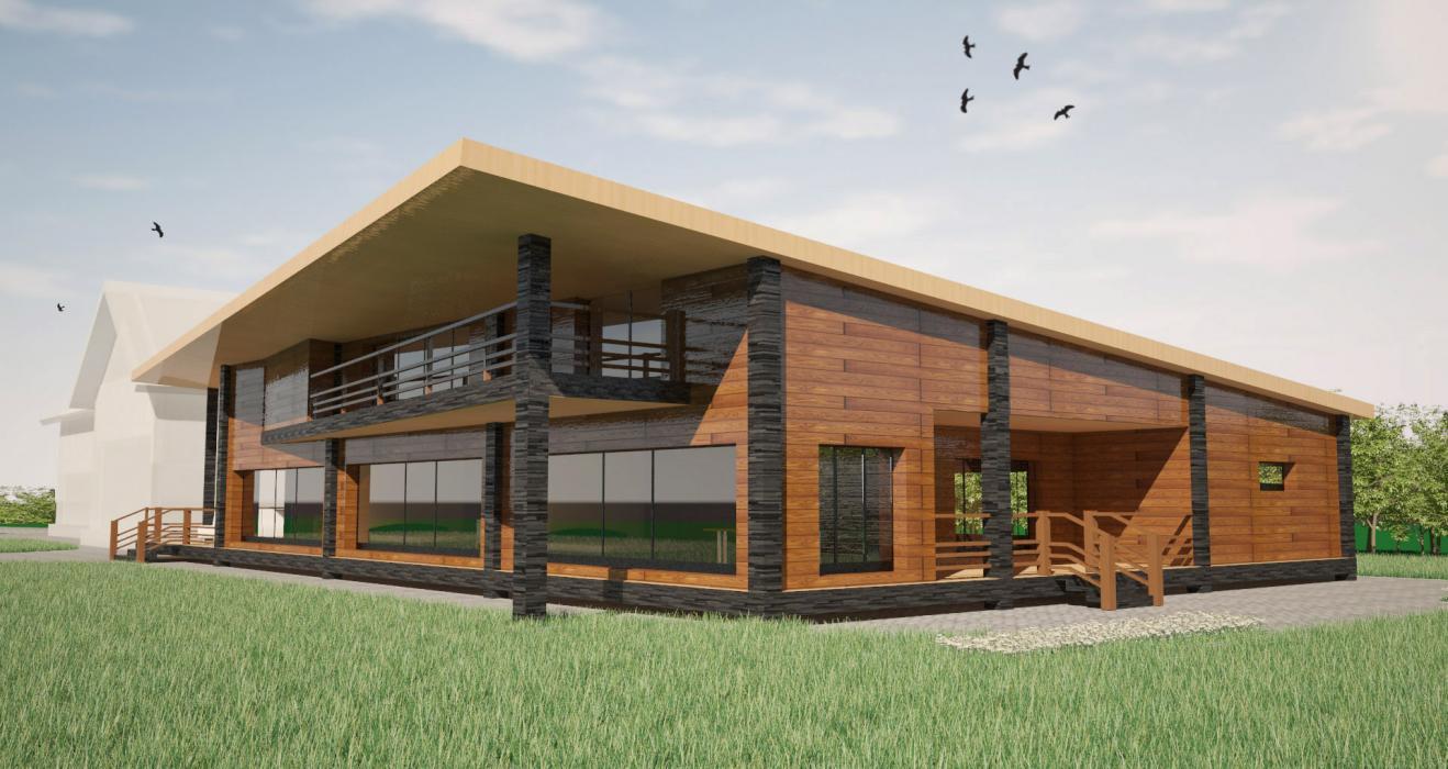 Проект домика для бассейна, США - 4