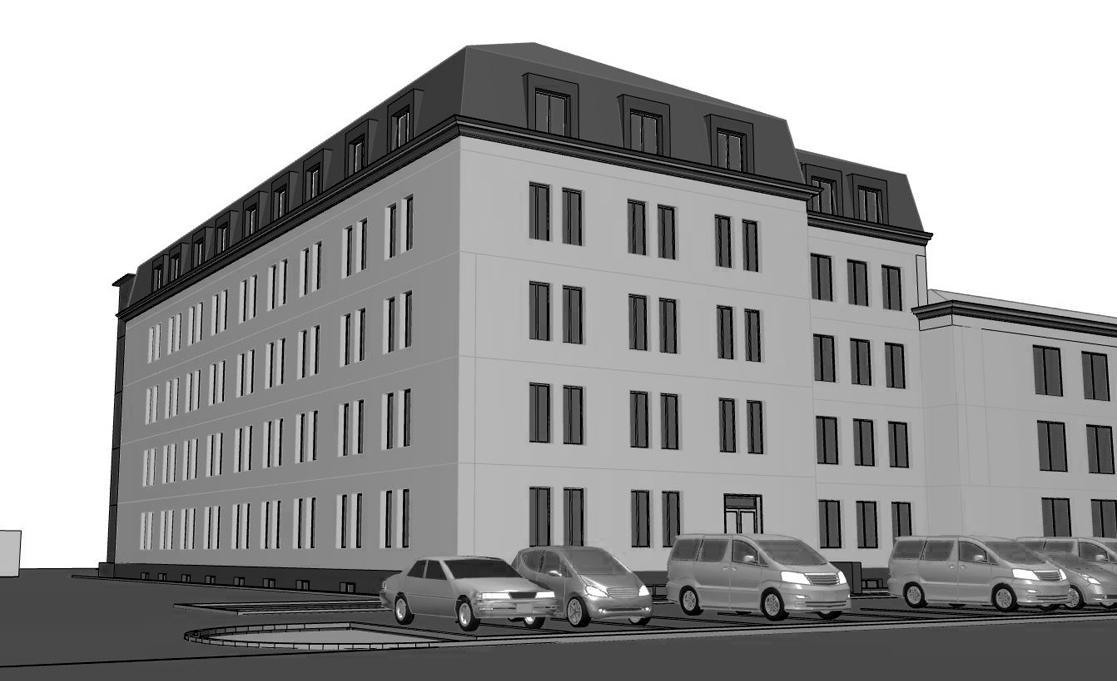 Реконструкция офисного здания под жилой многоквартирный дом, г. Киев - 1