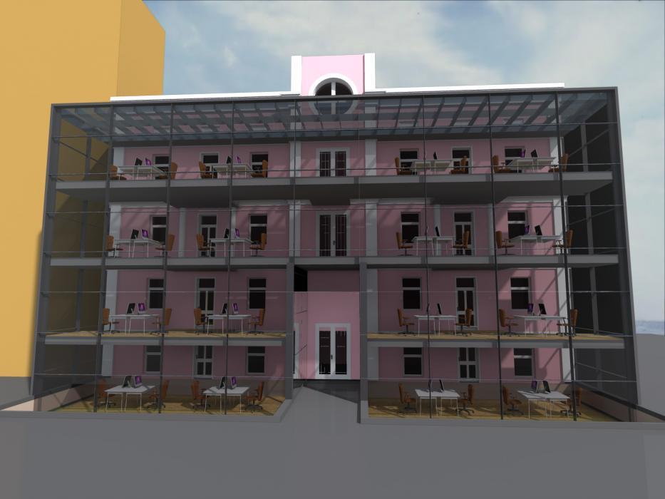 Реконструкция офисного центра, г. Киев - 4