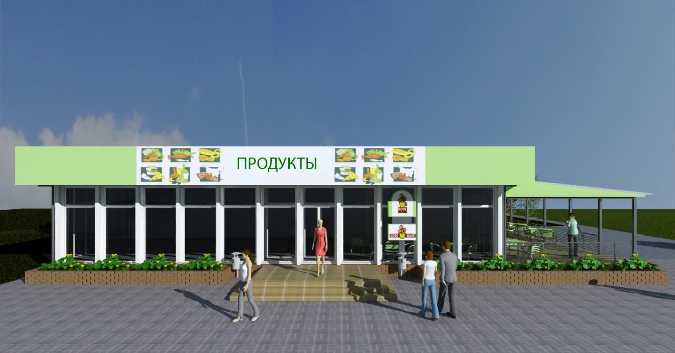 Реконструкция магазина, г. Киев - 2