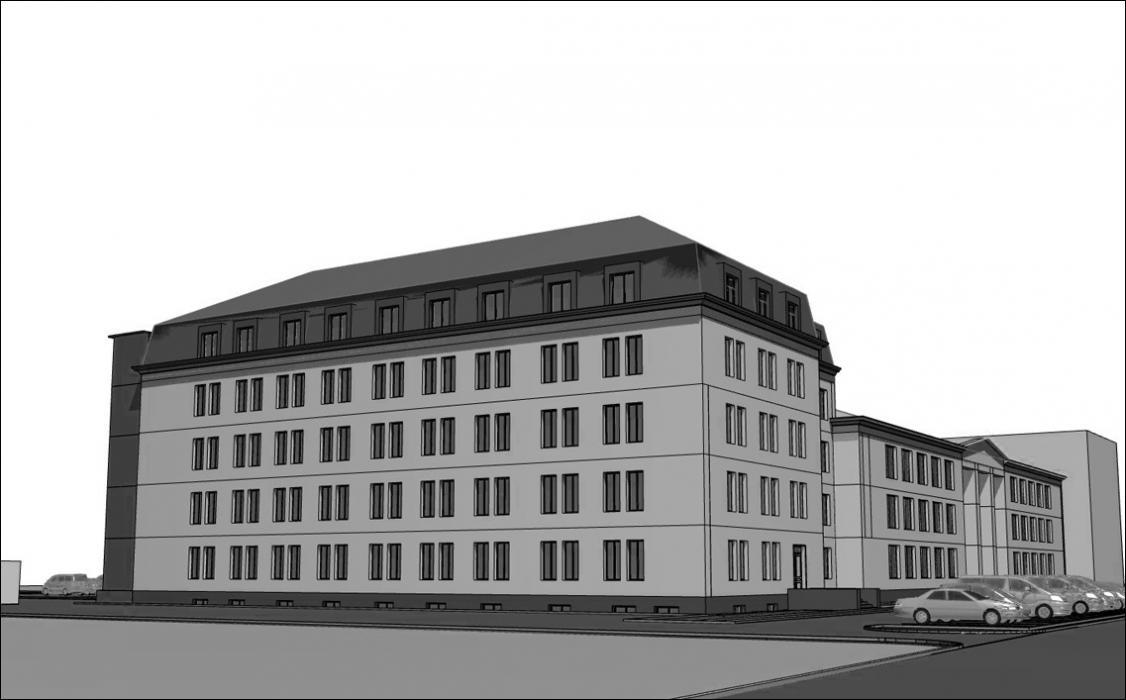 Реконструкция офисного здания под жилой многоквартирный дом, г. Киев - 2