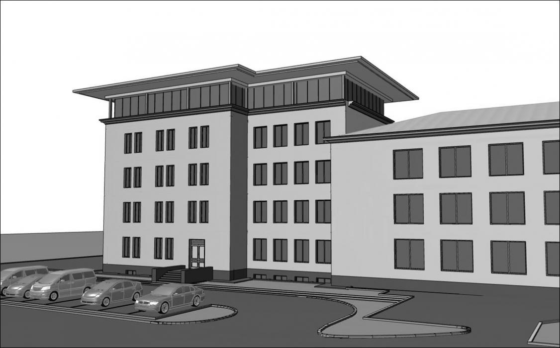 Реконструкция офисного здания под жилой многоквартирный дом, г. Киев - 8