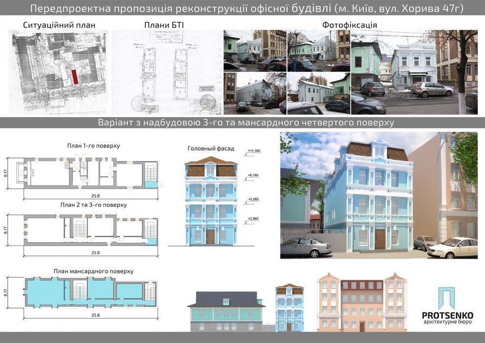 Предложение по реконструкции офисного здания по адресу ул.Хорива, 47-г - 7
