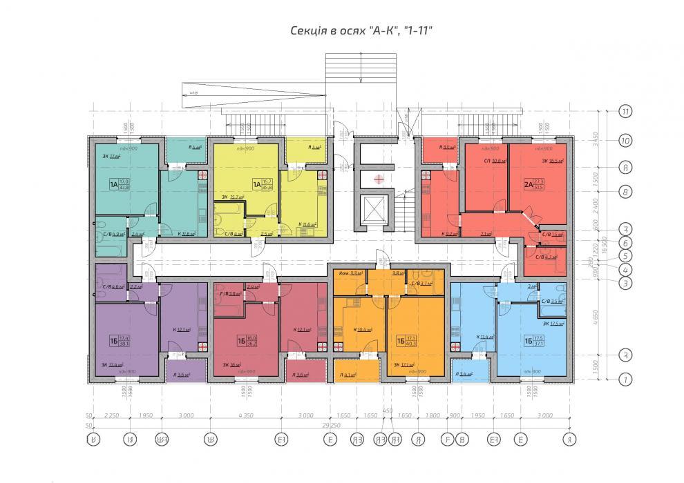 9-ти этажное жилое здание - 6