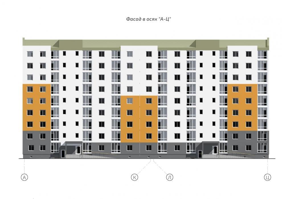 9-ти этажное жилое здание - 8