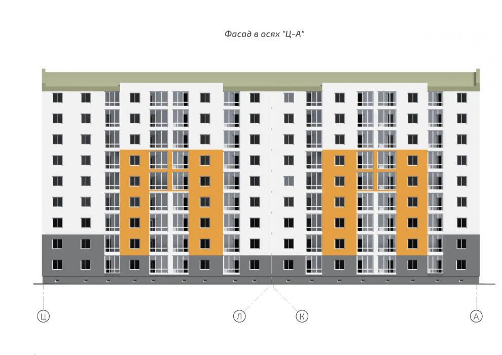 9-ти этажное жилое здание - 9