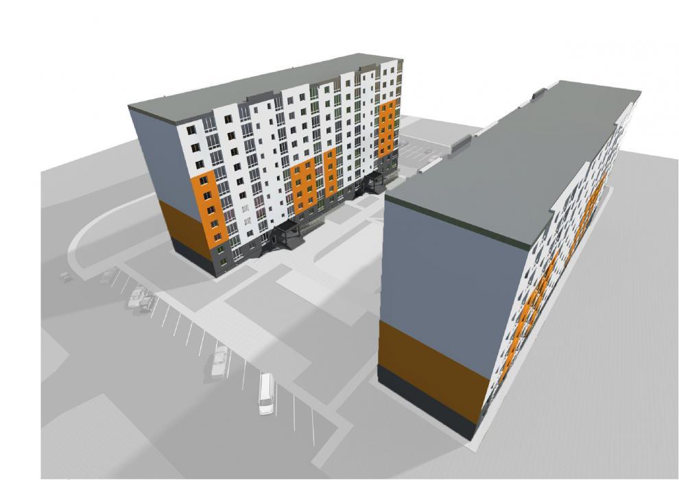 Проект жилого комплекса в г.Львов - 9