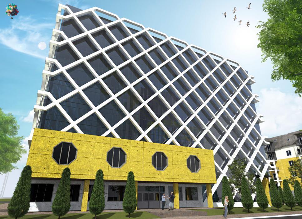 Реконструкция института стандартизации. г. Киев - 2