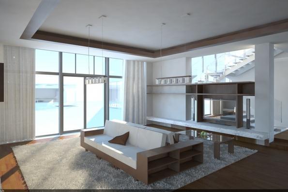 Дизайн интерьера индивидуального жилого дома в пгт. Ворзель - 1