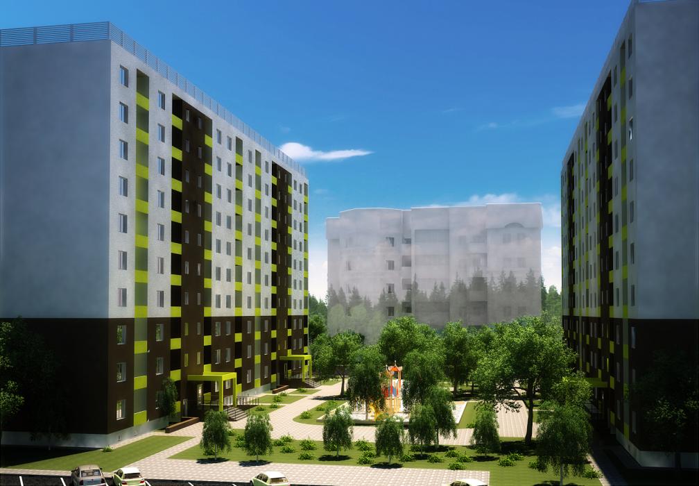 Проект жилого комплекса в г.Львов - 11
