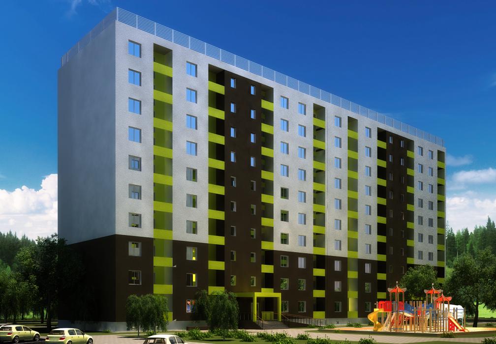 Проект жилого комплекса в г.Львов - 12