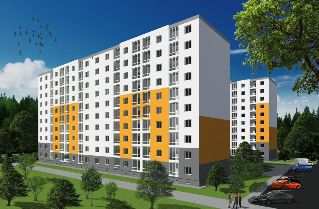 Проект жилого комплекса в г.Львов - 3