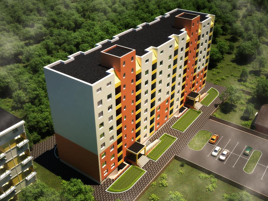 8-ми этажный жилой дом, с. Софиевская Борщаговка - 3