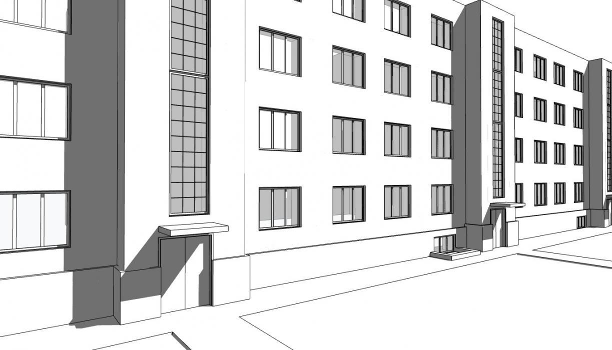 Реконструкция входной группы в жилом 4 этажном доме - 5