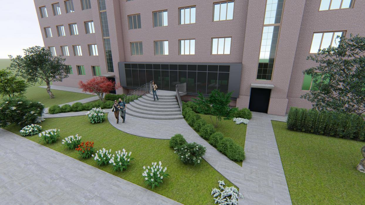 Реконструкция входной группы в жилом 4 этажном доме - 3