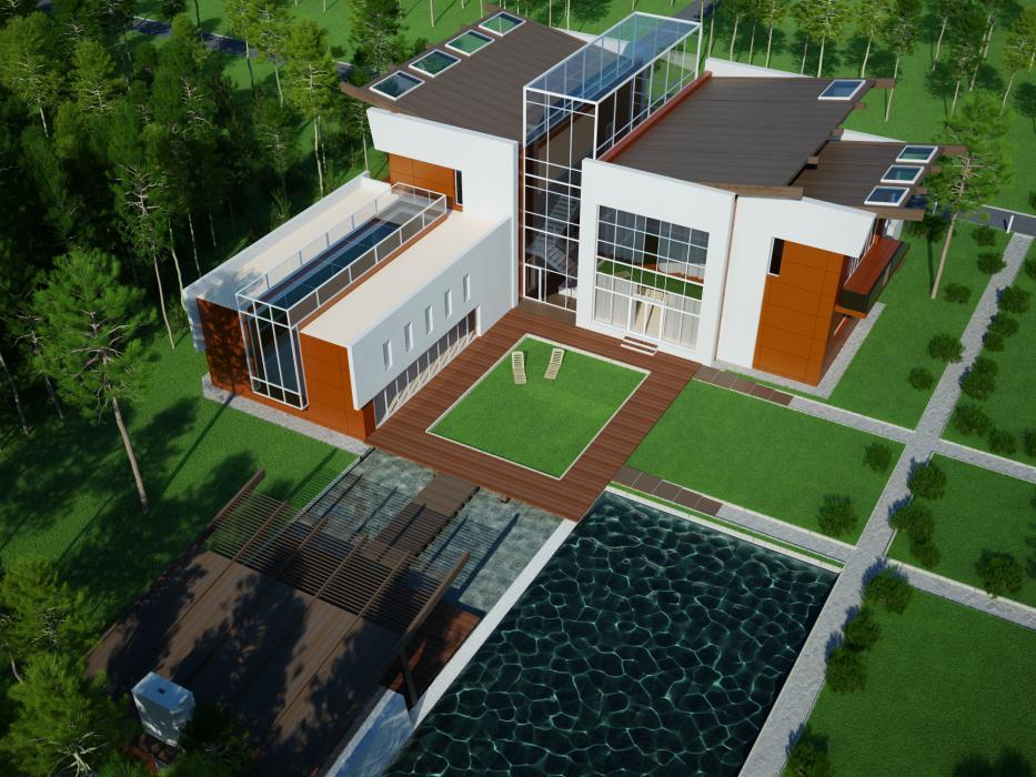 Проект жилого дома усадебного типа в пгт. Ворзель - 4