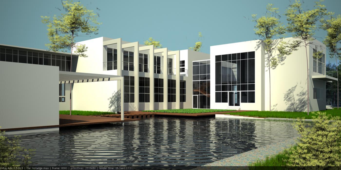 Проект жилого дома усадебного типа в пгт. Ворзель - 8