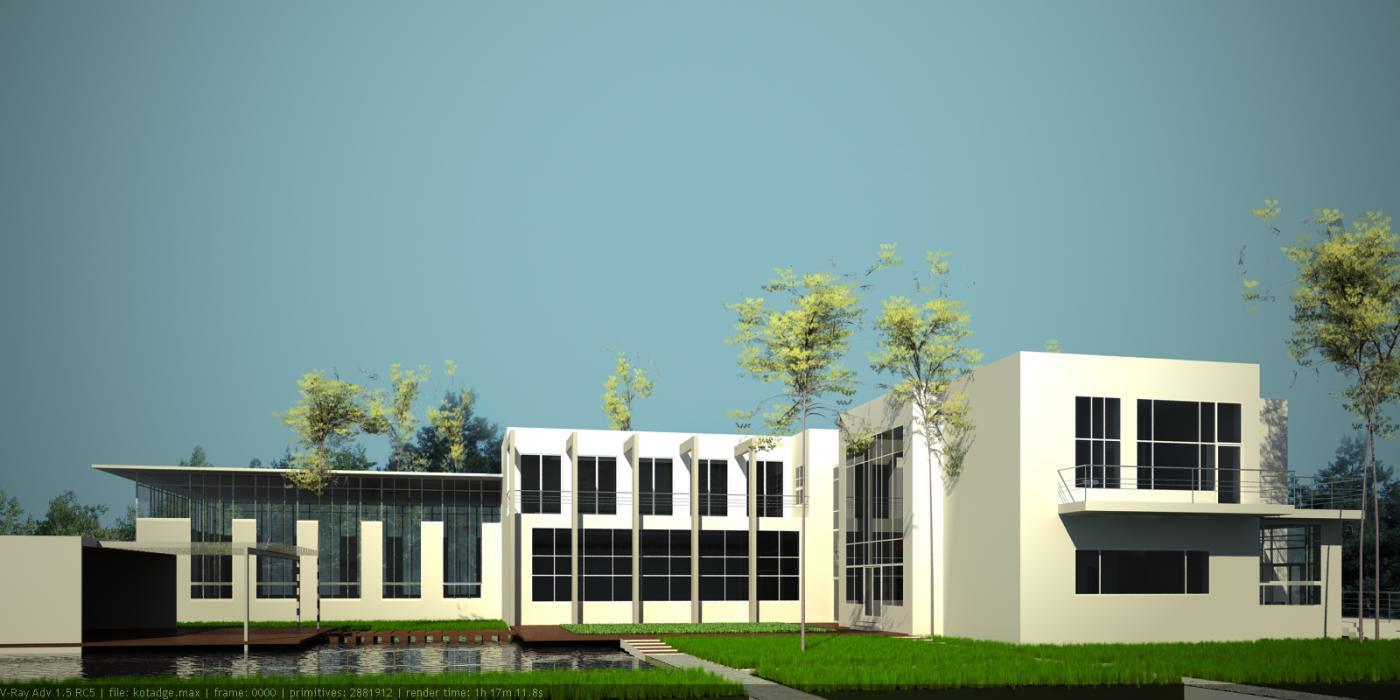 Проект жилого дома усадебного типа в пгт. Ворзель - 10