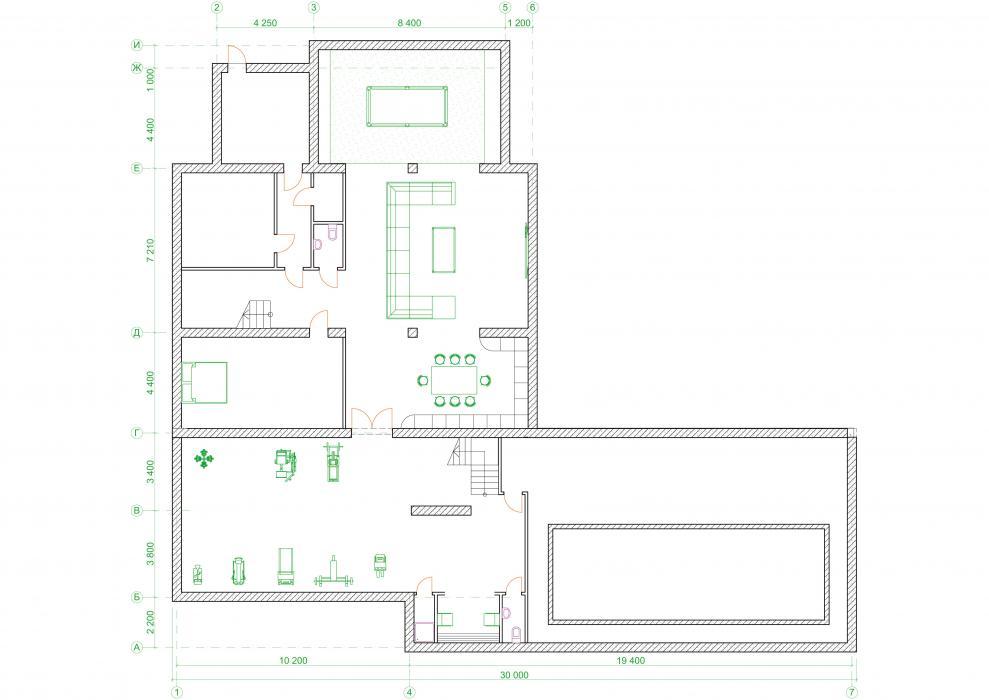 Проект жилого дома усадебного типа в пгт. Ворзель - 11