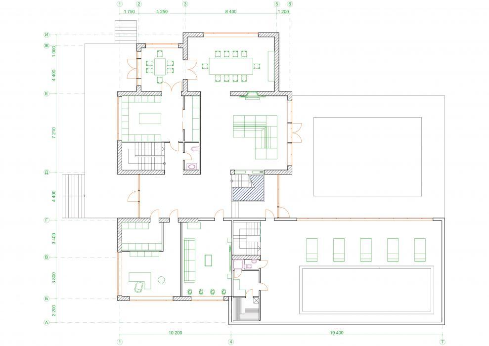 Проект жилого дома усадебного типа в пгт. Ворзель - 12