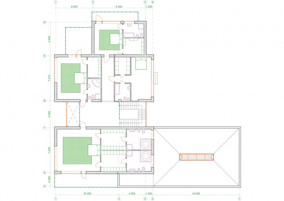 Проект жилого дома усадебного типа в пгт. Ворзель - 13