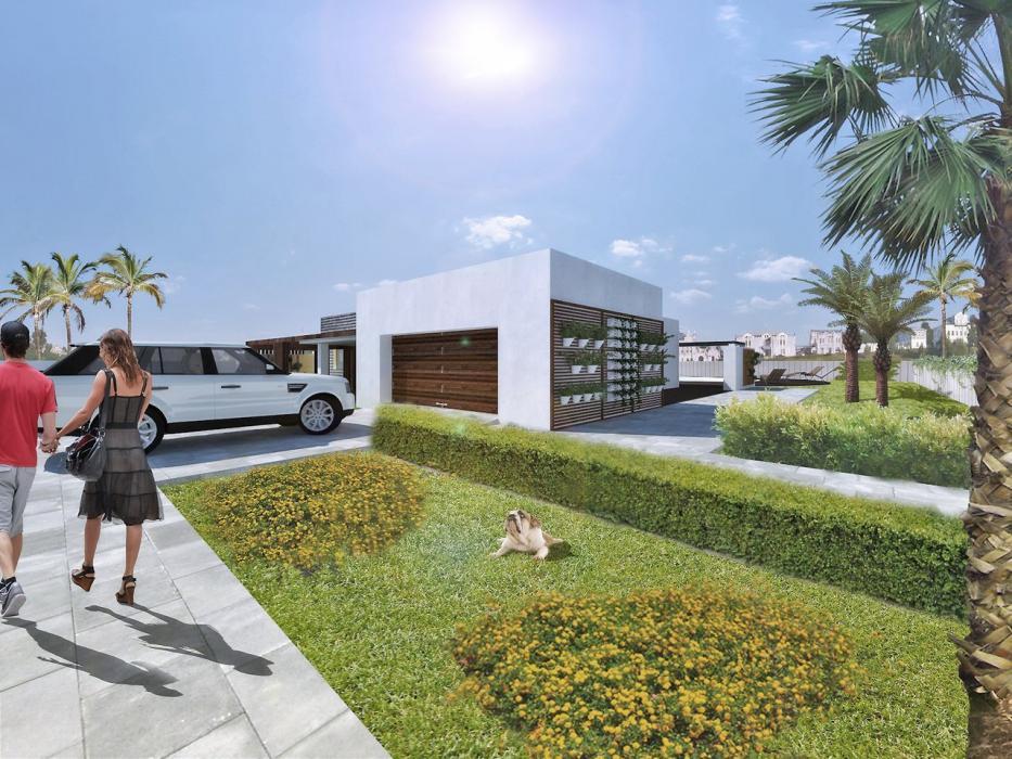 Реконструкция экстерьера жилого дома в Палм-Спрингс - 1
