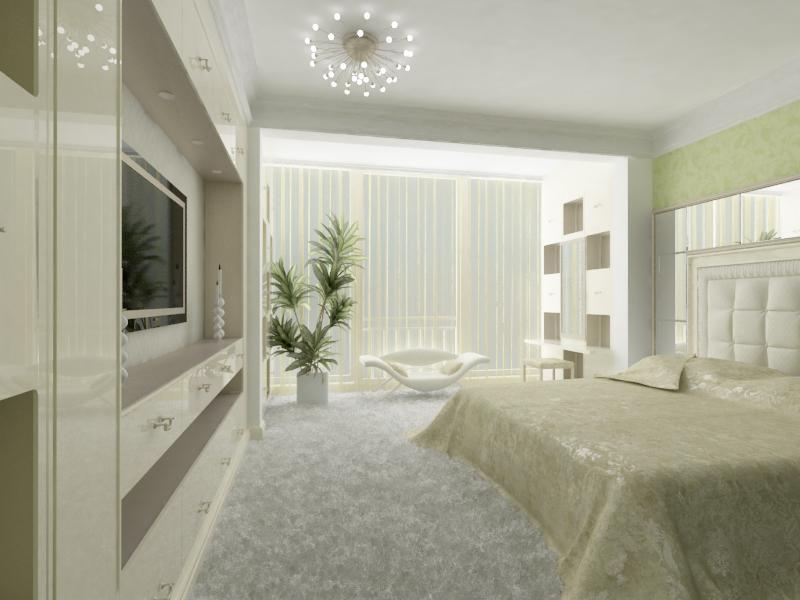 Интерьер квартиры по ул.Туманяна 15-а в г.Киеве 1 квартира - 5