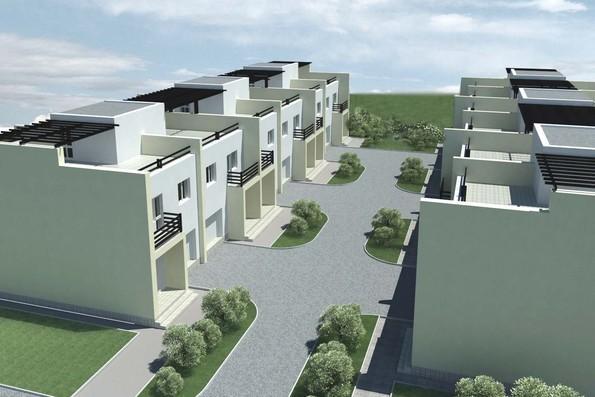 Проект блокированного дома в с.Петровское - 1