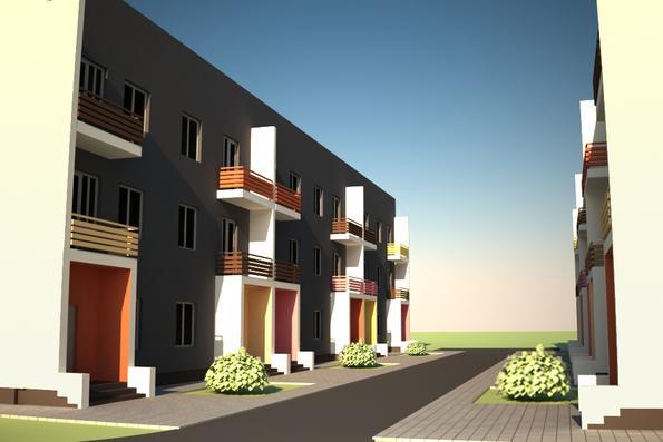 Проект блокированного дома в с.Петровское - 2