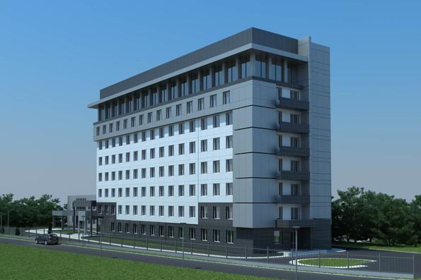 Проект админостративного здания по пр.Тычины 26 г, г.Киев - 3